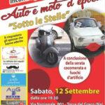 raduno auto e moto d'epoca sotto le stelle, torre del greco, 12 settembre 2020